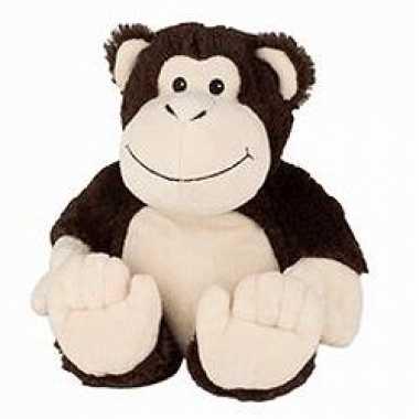 Opwarmbare knuffels aap