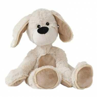 Warme knuffel hond met flaporen