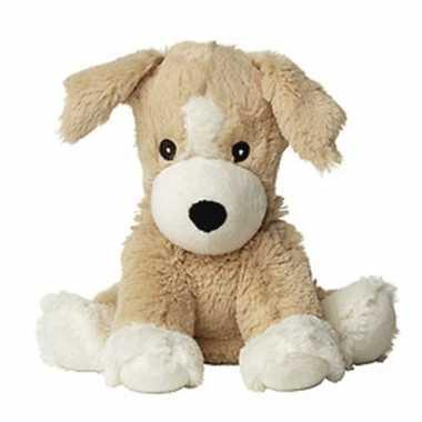Warme knuffel puppy met lavendel geur